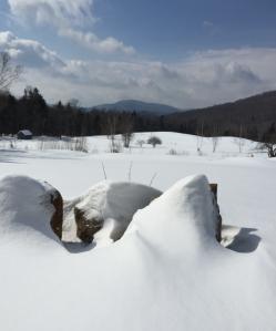Changement d'heure & week end dans le Vermont